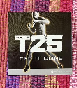 BEACHBODY Focus T25 Alpha Beta Complete 9 DVD Workout Fitness Set FREE SHIPPING!