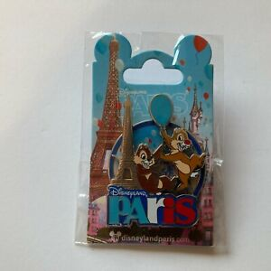 DLP - Chip and Dale Paris VII Disney Pin 128300