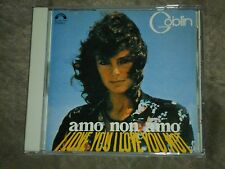 Goblin Amo Non Amo (I Love You I Love You Not) Soundtrack Japan CD
