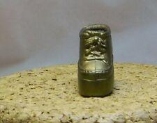 "Barbie Doll Barbie'S Sister Gold High Heel Sneaker Only 1 Shoe 3/4"" F15"