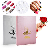 216 Colors Nail Gel Polish Display Card Book Board Chart Salon Nail Art LJ