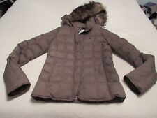 VERY NICE WOMENS ABERCROMBIE & FITCH DOWN JACKET SIZE MEDIUM GREAT SHAPE
