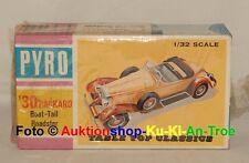 Modellbausatz von 1965 - Pyro 1:32 - '30 (1930) Packard Boat-Tail Roadster