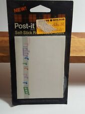 Vintage Post-it Notes 1985 Sealed Package Musical Notes Collectible