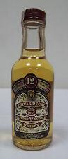 Miniature / Mignon Scotch Whisky CHIVAS REGAL 12yo (c)