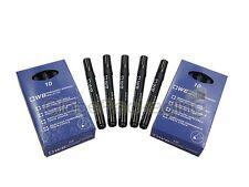 100 X calidad Negro Bullet Punta Marcador Permanente Plumas - 24 del