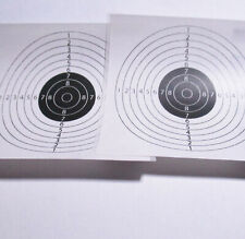 Mini target  B/W Sticker Decal 61x61mm for indoor games