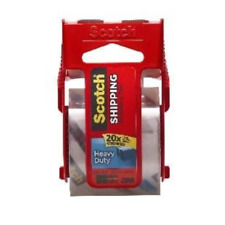 Scotch Heavy Duty Shipping Packaging Tape with Dispenser , Pack Of 2