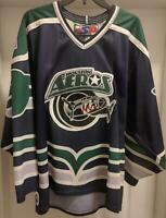 Vintage Houston Aeros Jersey Embroidered Logo AHL American Hockey SP Mens Size M