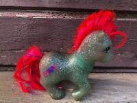 Vintage My Little Pony 1985 SKY ROCKET Sparkle Glitter Ponies