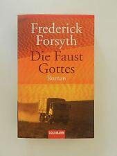 Frederick Forsyth Die Faust Gottes Roman Thriller Goldmann Verlag
