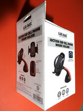 360-D Rotating Suction Cup New Generation CELL PHONE/GPS HOLDER by LAX-MAX