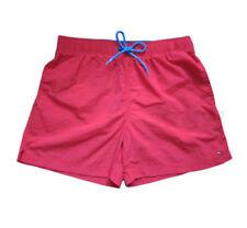 Abbigliamento rossi in poliammide per il mare e la piscina da uomo taglia L