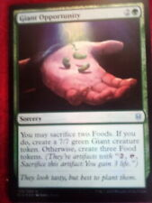 FOIL Giant Opportunity Throne of Eldraine Magic The Gathering MTG  Uncommon