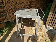 Multifunktionstisch für Handkreissäge und Oberfräse Metall verzinkt