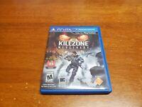 Killzone: Mercenary (Sony PlayStation Vita, 2013) Complete with Original Case