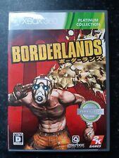 Borderlands Platinum Collection Japanese Xbox 360