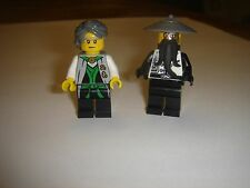 2 LEGO Ninjago Evil Sensei Wu and Garmadon Minifigures new lot 70725