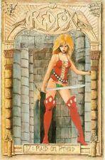 Redfox # 17 (female Barbarian) (UK, 1988)