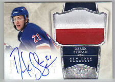 10-11 Panini Dominion Derek Stepan Auto Jersey Rookie Card RC #242 19/99 Mint
