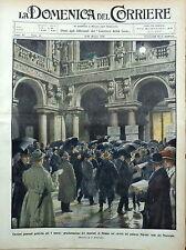 DOMENICA DEL CORRIERE 1909 MILANO MESSINA PONTEBBA CADORE FIRENZE