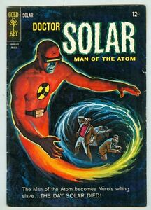 Doctor Solar #11 VG March 1965 painted cover