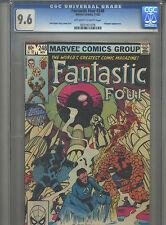 Fantastic Four #248 CGC 9.6 (1982) John Byrne Inhumans & Quicksilver