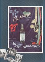 Publicité ancienne Marie Brizard 1950 issue de magazine