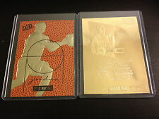1996 MICHAEL JORDAN Fleer Court Masters * FEEL THE GAME * NBA 23K GOLD Card