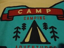 SALVATION ARMY Camp Camping NEOSA Ohio Adventure CAMPER New T Shirt size Medium