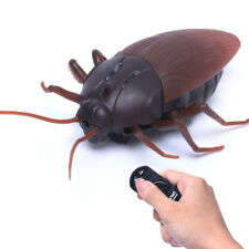 Funny Simulation Infrared RC Remote Control Scary Creepy Insect Cockroach Toys