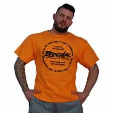 Brachial T-Shirt Style Orange Bodybuilding Fitness