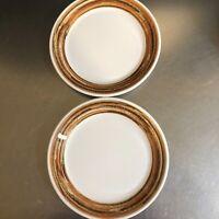 Syracuse China Syralite Restaurant Ware Woodridge Lunch Plates Set 2 Made USA