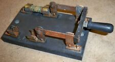 Antique PERKINS Fusible Knife Blade Switch / Industrial Steampunk Disconnect