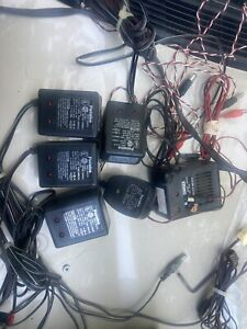 lot wall chargers transmitter receiver r/c model airplane futaba JR airtronics