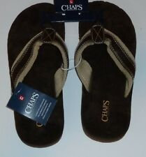 Chaps Comfort Touch Sandals Flip Flop Brown New NWT Size XL Extra Large 12
