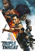 Triple Threat DVD (2019) Tony Jaa, Johnson (DIR) cert 15 ***NEW*** Amazing Value