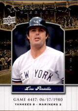 2008 Upper Deck Yankee Stadium Legacy Collection #4417 Lou Piniella (ref 18356)