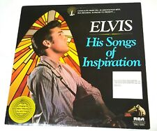 Elvis Presley His Songs of Inspiration Vintage Vinyl RCA 1977 Candlelite Music