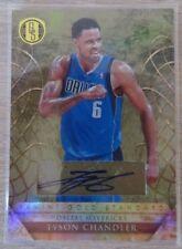 2010-11 Panini Gold Standard Signatures #37 Tyson Chandler/199 Mavs NBA Champ