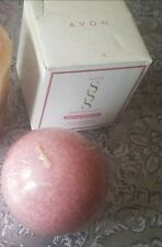 Vintage 1990s new Avon Sss Skin So Soft & Sensual Scented Candle Pink Usa