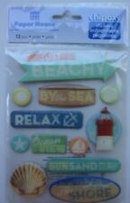PAPER HOUSE  JUST BEACHY CHIPOXY STICKERS BEACH- VACATION 3D