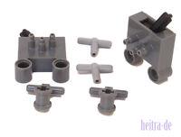 LEGO Technik Pneumatik - 2 x Schalter, 2 x T-Stück, 2 x Verbinder NEUWARE