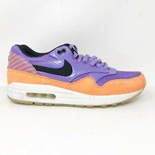 Nike Mens Air Max 1 FB Premium QS 665874-500 Atomic Violet Running Shoes Size 11