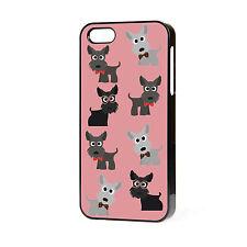 Nuevo Lindo Scotty Dog Escocés Terrier Westie único Iphone teléfono caso Libre P&P.