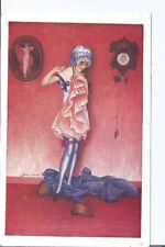 Original Risque France pc Xavier Sager #693-131 Sur le coup de Minuit pu 1925