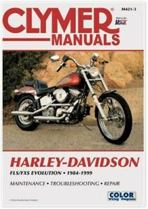 Clymer Repair Manual Harley-Davidson FLS FXS Evolution Evo Softail M421-3 274011
