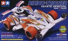Tamiya 19619 1/32 Mini 4WD Super XX Chassis JR Rising-Trigger White Special