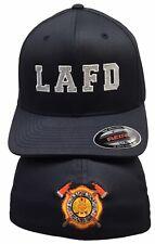 City Of Los Angeles LAFD Black XL/L Flexfit