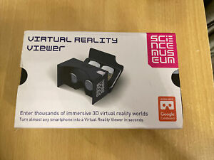 Virtual Reality Viewer By Science Museum Google Cardboard Slightly Used